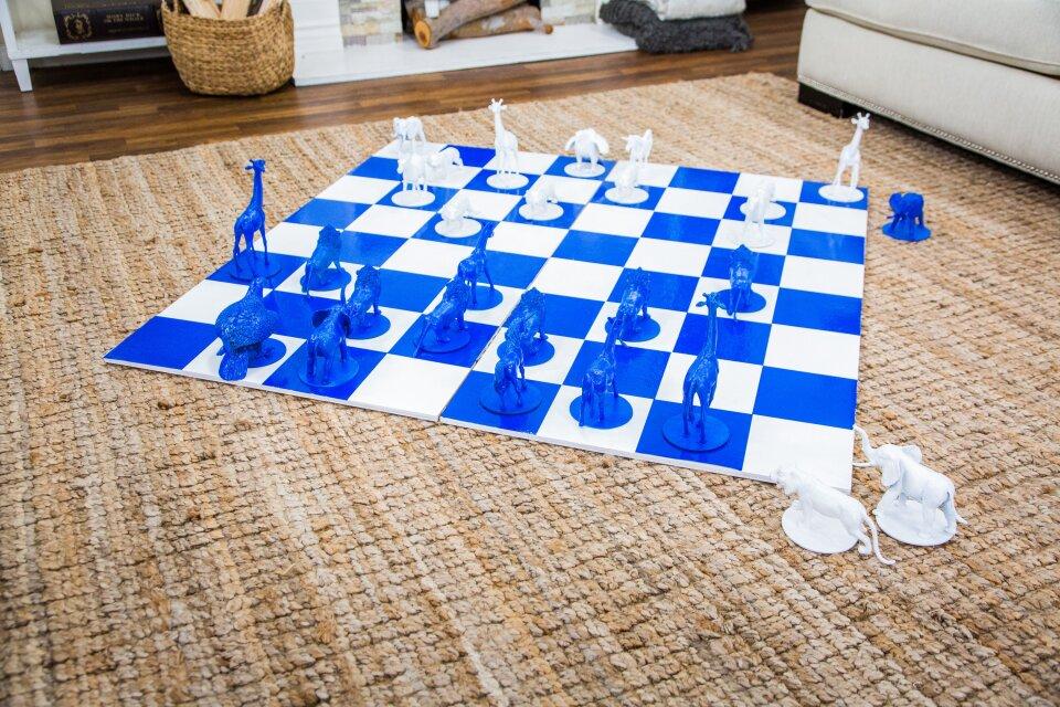 DIY Giant Chess Set