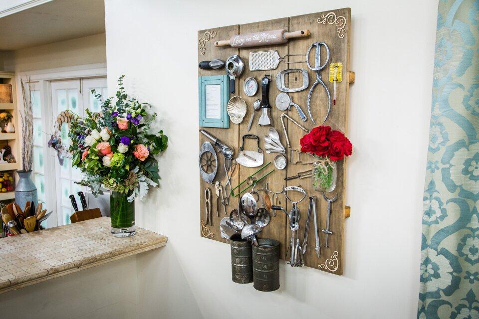 DIY Kitchen Heirloom Board