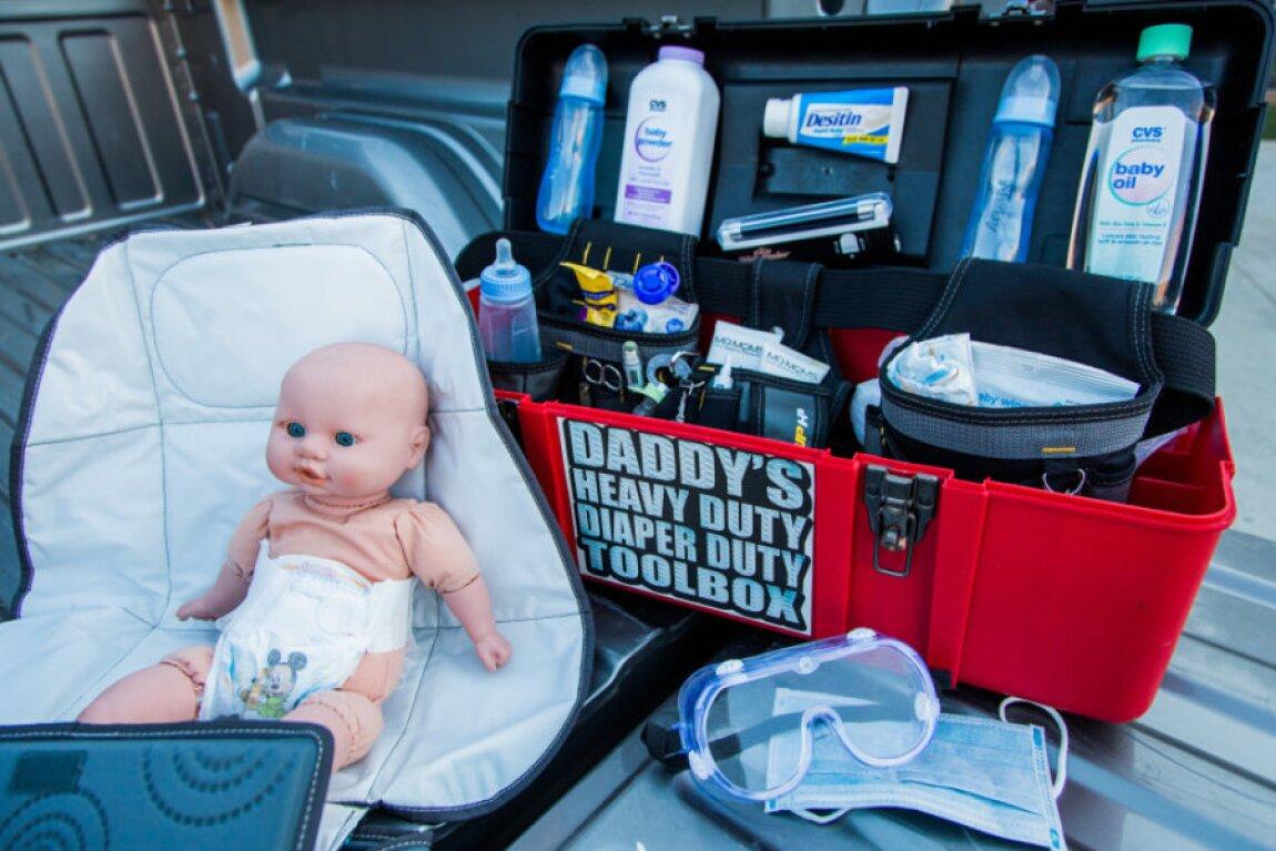 Matt Rogers' Emergency Daddy Diaper Tool Kit