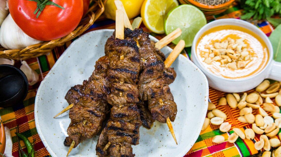 Suya Kebabs