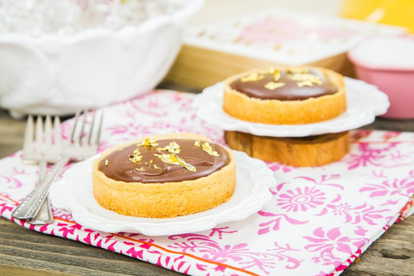 Home and Family Chocolate Champagne Tarts Recipe
