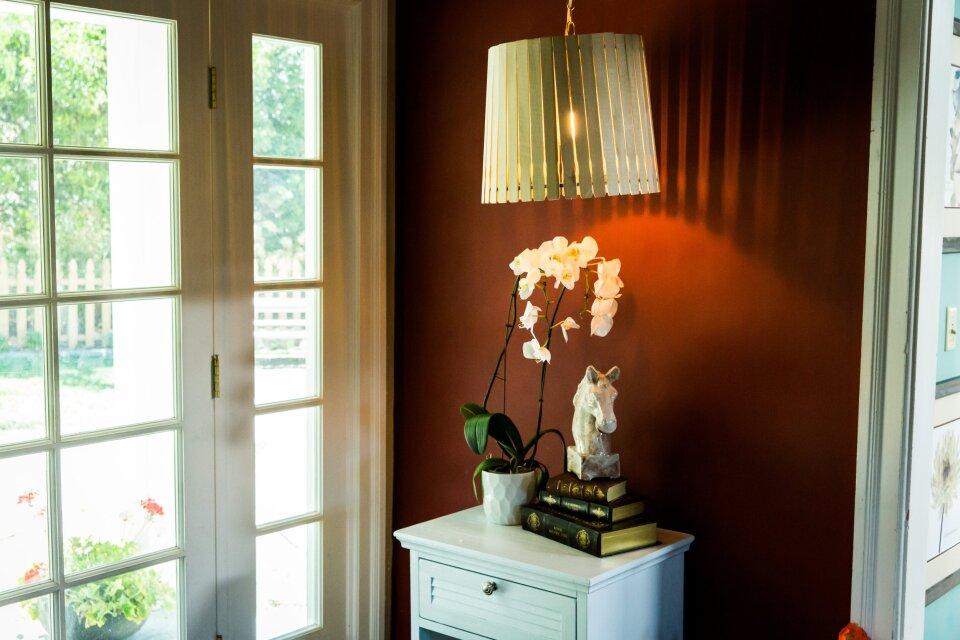 DIY Paint Stick Lampshades