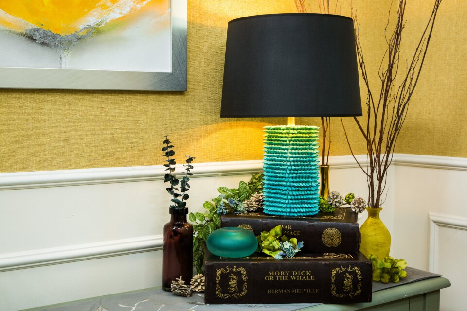 DIY Gemstone Lamp
