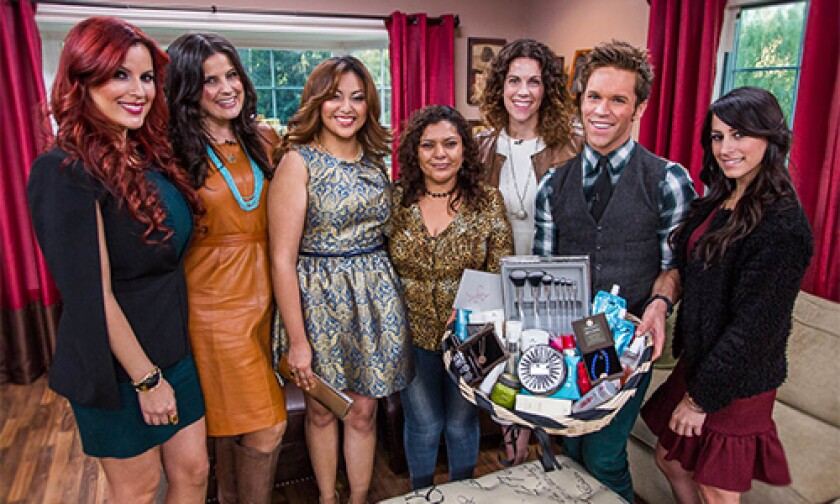 Today on Home & Family Monday, December 9th, 2013