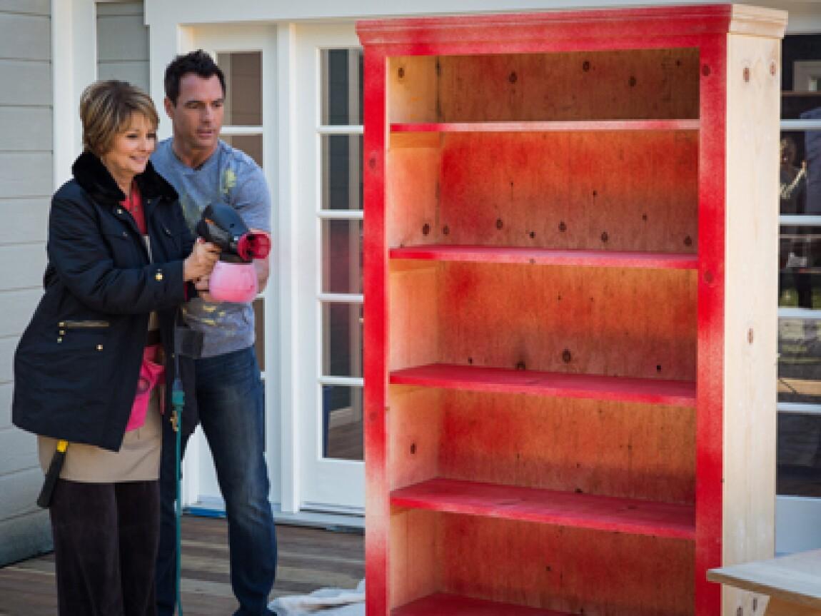 Mark and Cristina's DIY Bookshelf