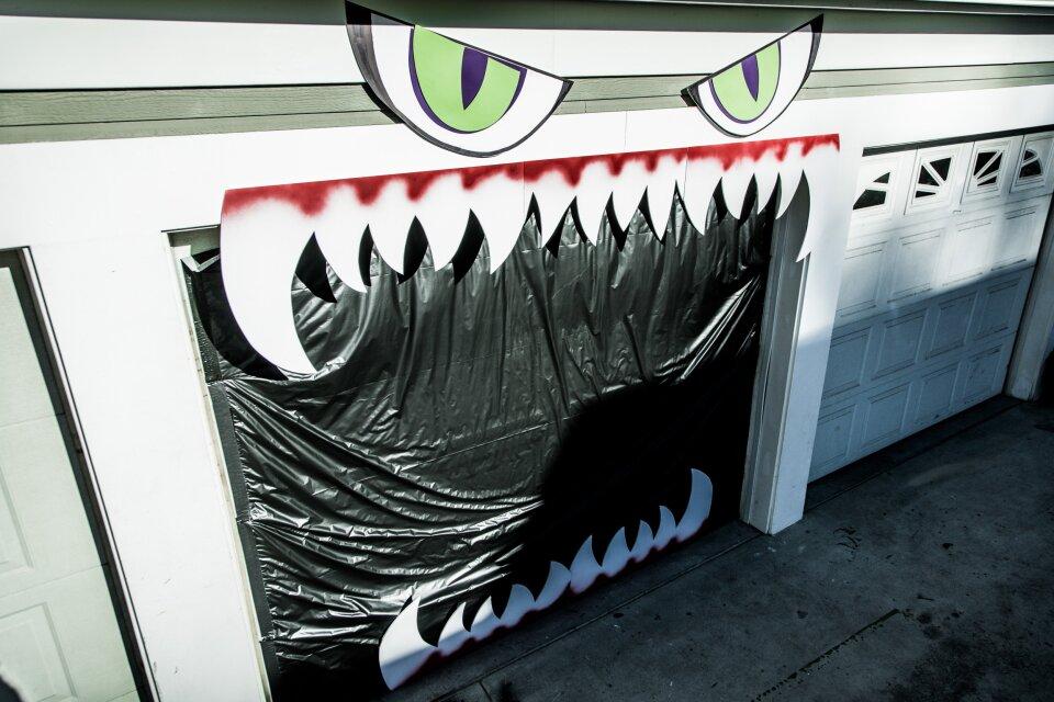 DIY Monster Garage Door