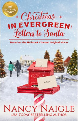 Christmas in Evergreen: Letters to Santa Book Cover Hallmark Publishing