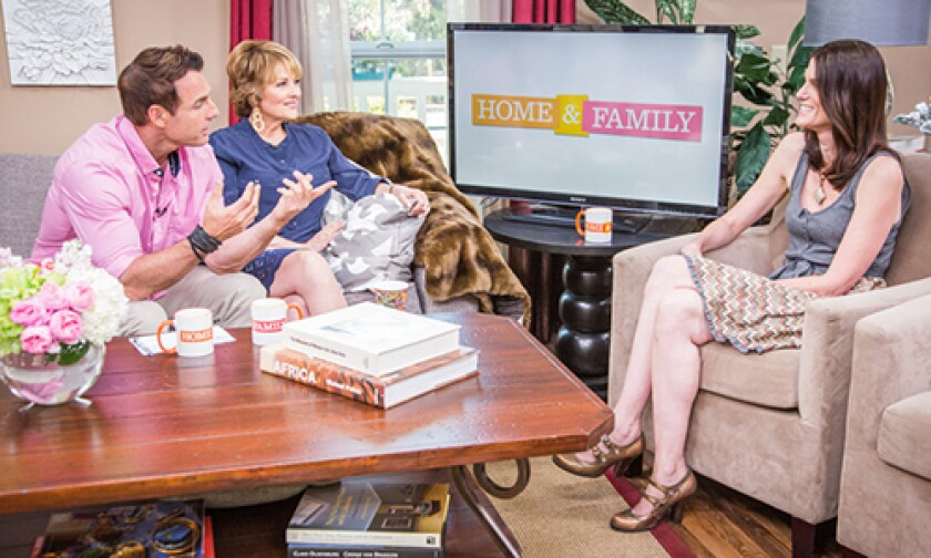 Today on Home & Family Friday, August 9th, 2013
