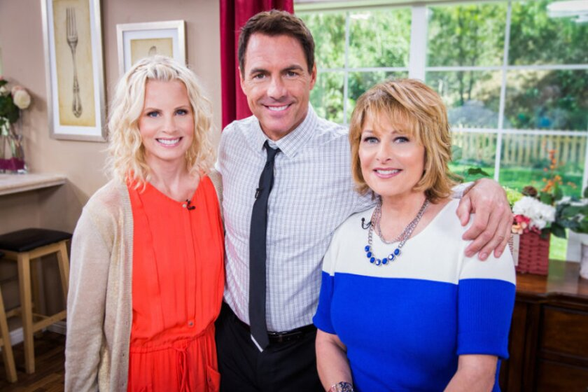 """Mark Steines and Cristina Ferrare make DIY Chalkboard binders with Parenthood star, Monica Potter. From the Hallmark Channel Original Series """"Cedar Cove"""", actor, Brennan Elliott joins Cristina in the kitchen to make Sun Dried Eggplant Parmagiana.  We make a DIY Autumnal planter for your front porch with Ken Wingard.  Debbie Matenopoulos has modern updates to classic hairstyles.  Dr. Wendy Chang tells women what they need to know about having their eggs frozen.  """"Castle"""" actress, Tamala Jones, gives us an update on her health after suffering a brain aneurism.  Then, the tech queen, Veronica Belmont has wearable technology that does everything from monitor your heart rate to improve your golf swing."""
