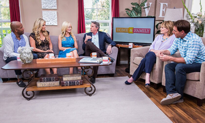 Today on Home & Family Monday, July 14th, 2014
