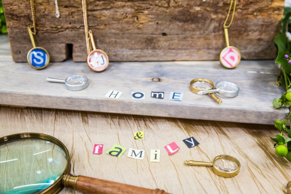 DIY Magnifying Glass Necklace