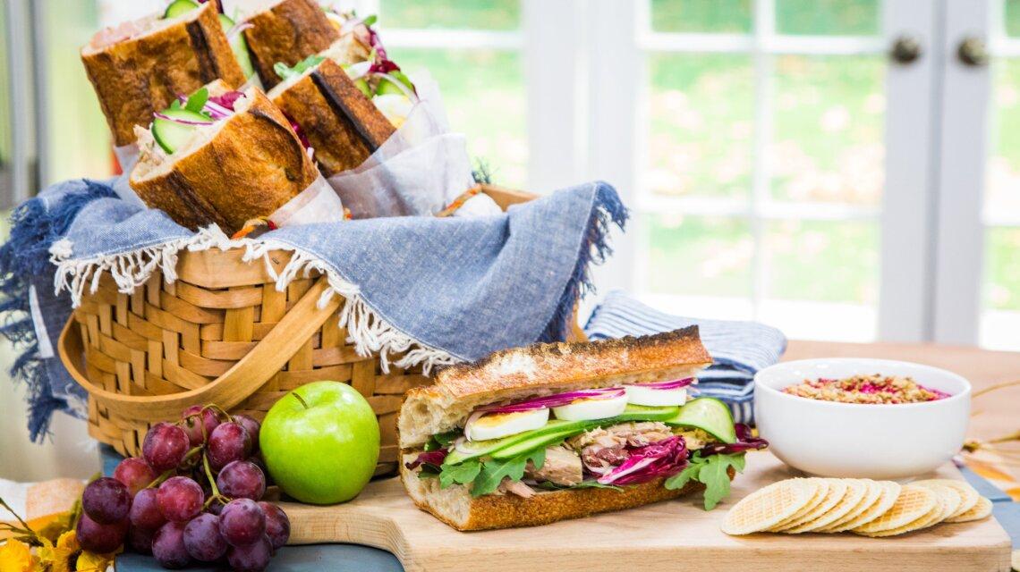 "Curtis Stone - Tuna Sandwich ""Pan Bagnat"""