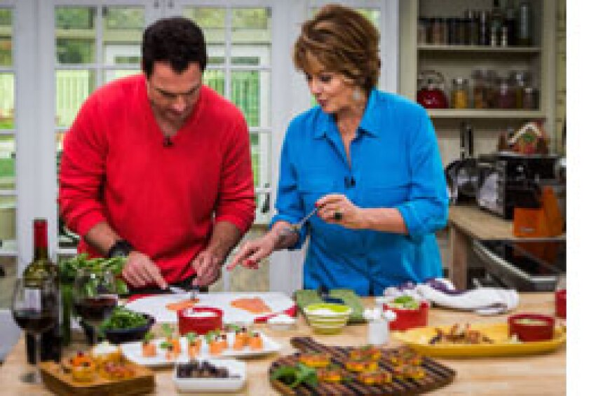 Today on Home & Family: J.R. Martinez