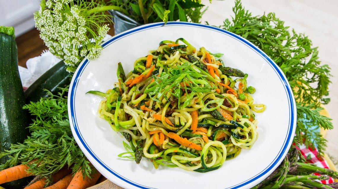"Candace's ""Zesty Zoodle Salad"""