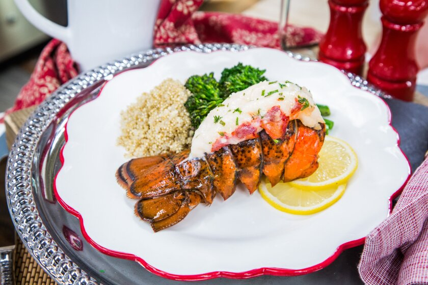 Oven-Baked Lobster Tail Recipe