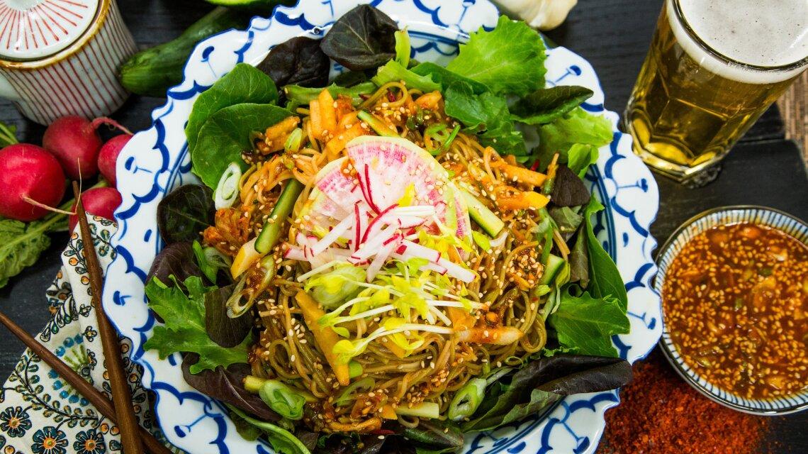 Clara's Spicy Mixed Noodles