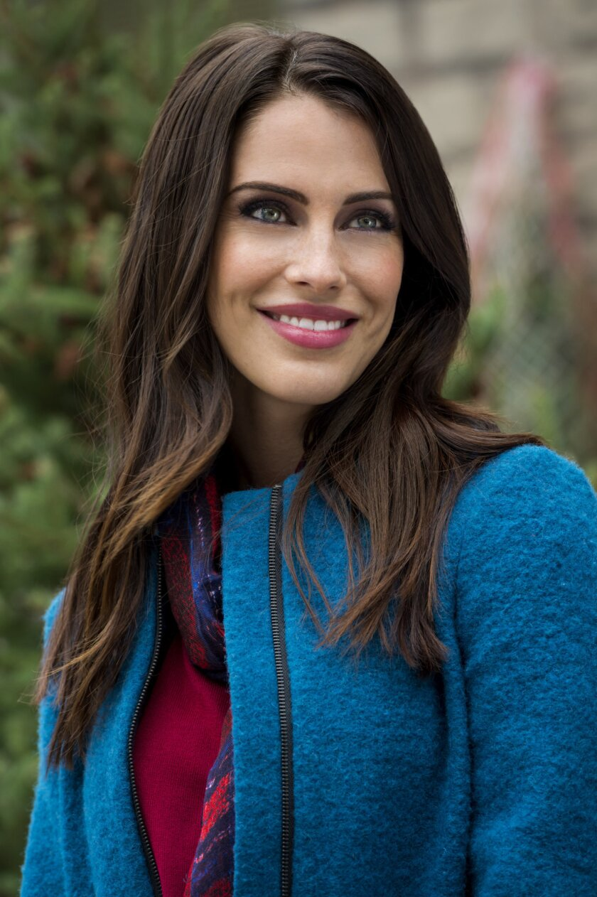 Jessica Lowndes stars in the Hallmark Channel Christmas Movie Merry Matrimony