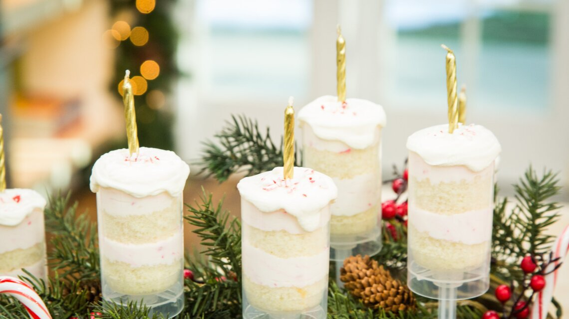 Christmas Candle Push Pops