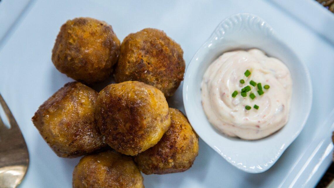 Sausage Balls Appetizers