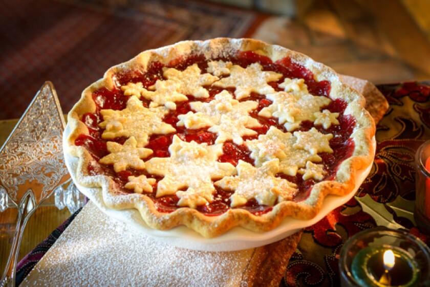Snowflake Cherry Pie