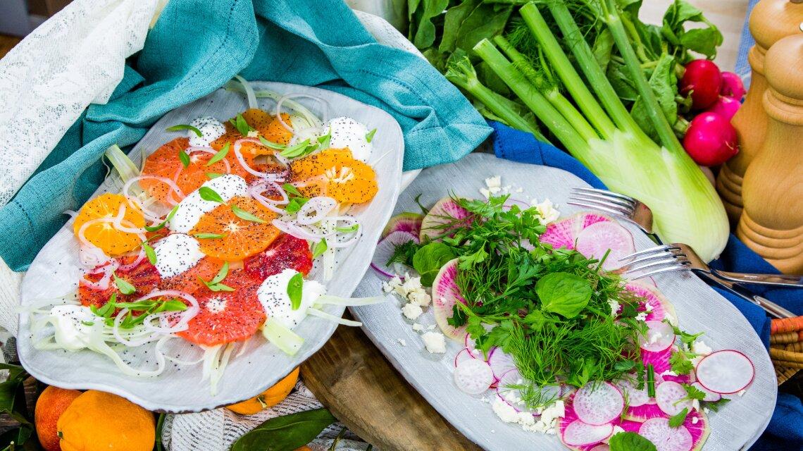 Winter Salads: Two Ways