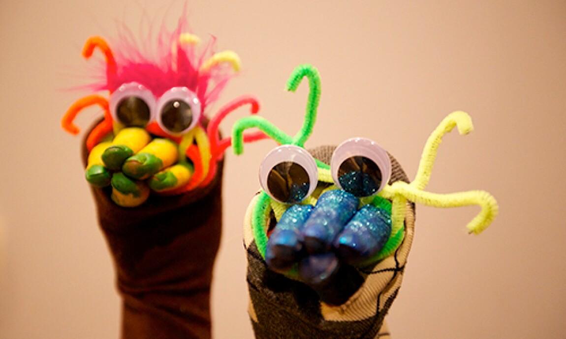 Tanya Memme's DIY Googly Eyed Hand Puppets