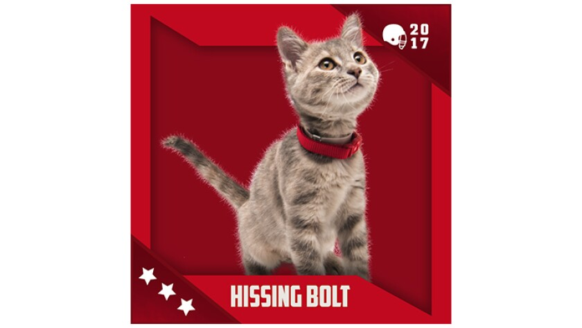 Kitten Bowl IV Emojis - Boomer's Bobcats - Hissing Bolt