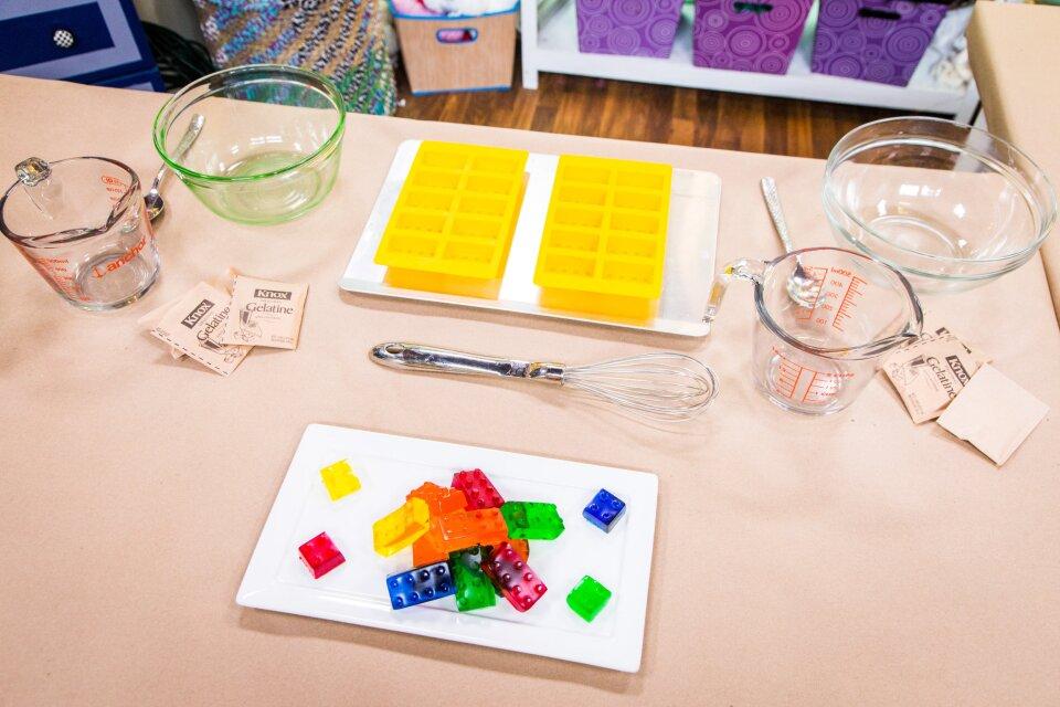Tanya Memme's DIY Jell-O Legos
