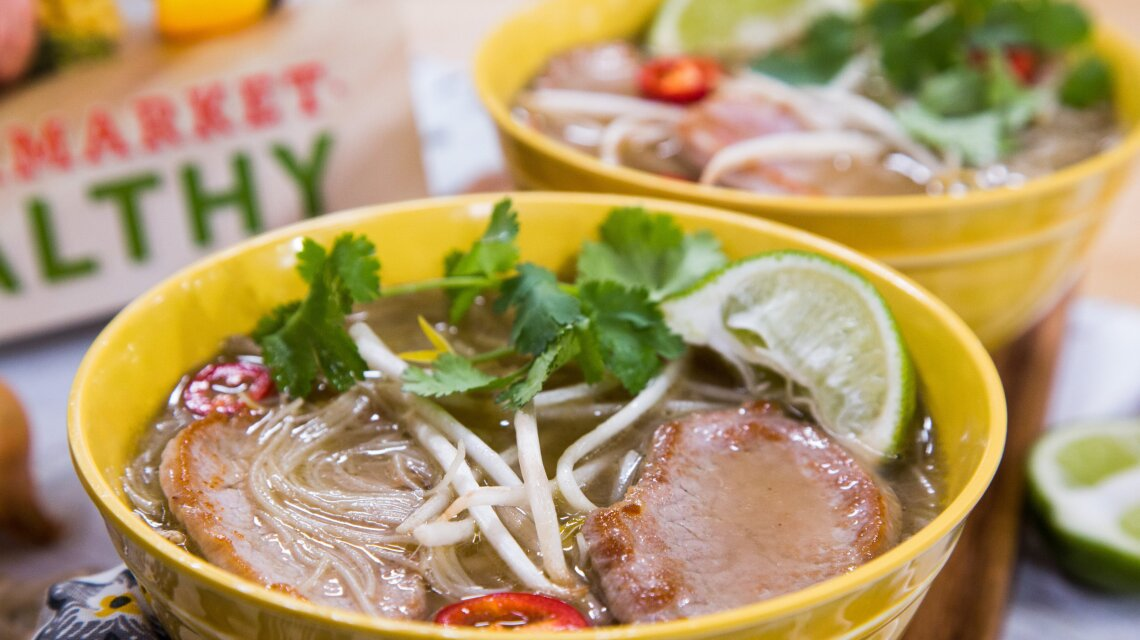 Pork and Rice Noodle Pho