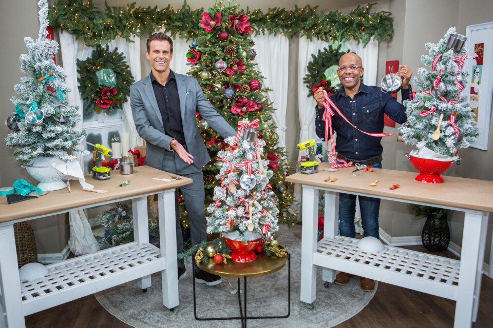 DIY Kitchen Christmas Tree
