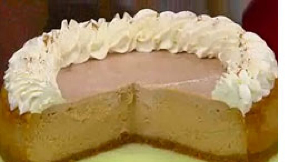 George Geary's Maple Pumpkin Cheesecake