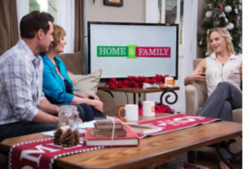 Today on Home & Family: Chris Mann