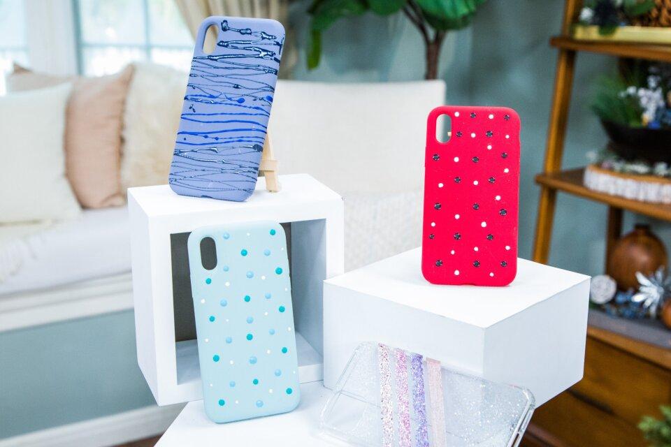 DIY Nail Art Phone Cases
