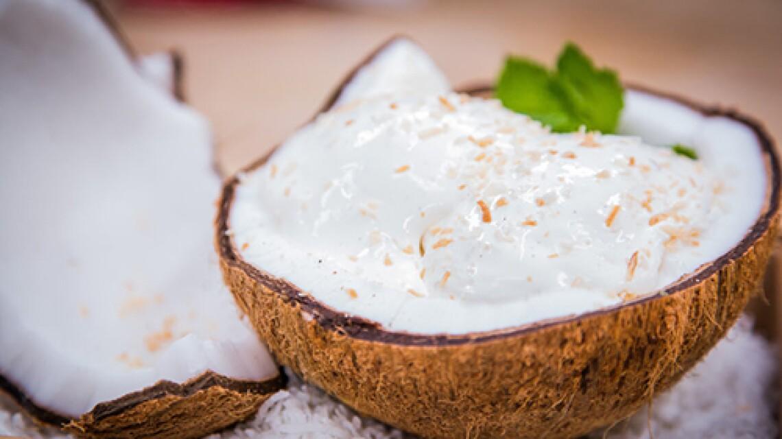 Chef Chris Brugler's Toasted Coconut Sorbet