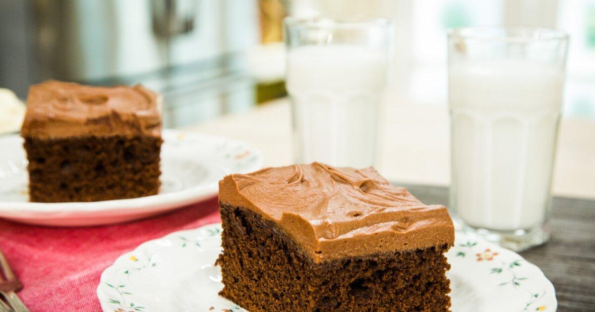 Recipes Old Fashioned Chocolate Mayonnaise Cake