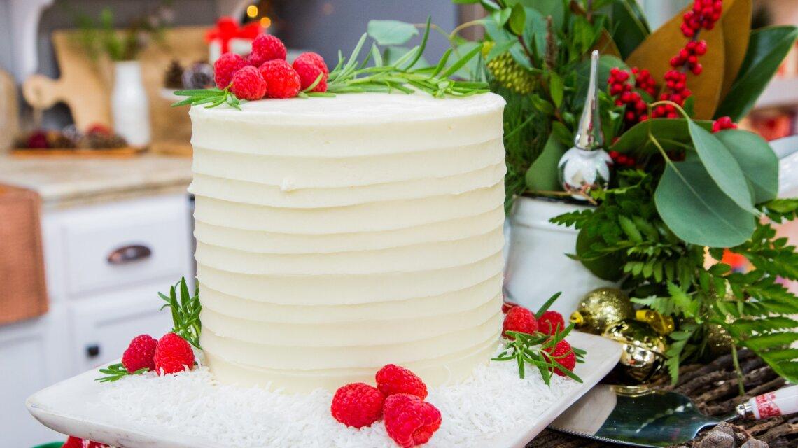 Courtney Rich - Chai White Chocolate Raspberry Cake