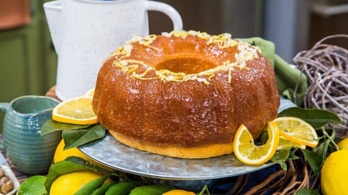 Meyer Lemon Butter Cake
