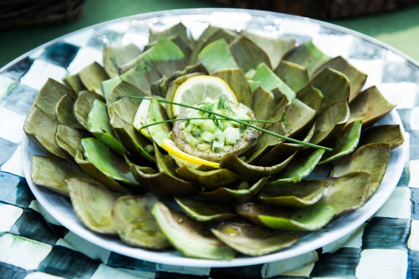 artichoke-flowers