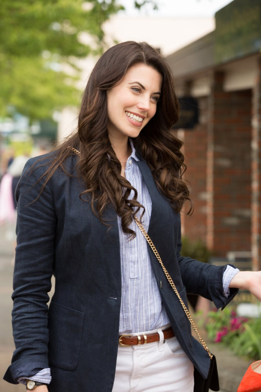 """Find out more about Meghan Ory's character, Trace Riley in the Hallmark Channel original series, """"Chesapeake Shores"""""""