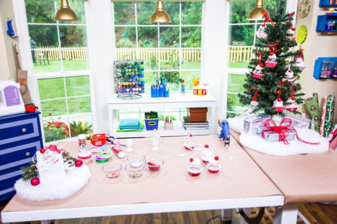 Tanya Memme's DIY Cupcake Ornaments