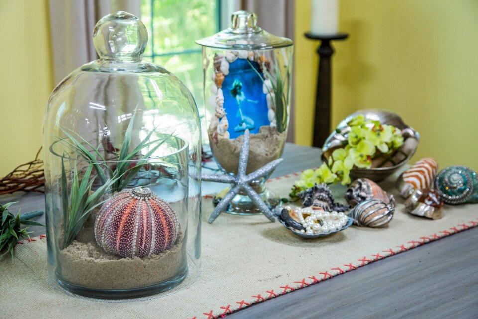 DIY Silver Dipped Sea Shells