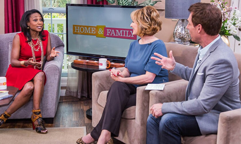 Today on Home & Family Friday, March 21st, 2014