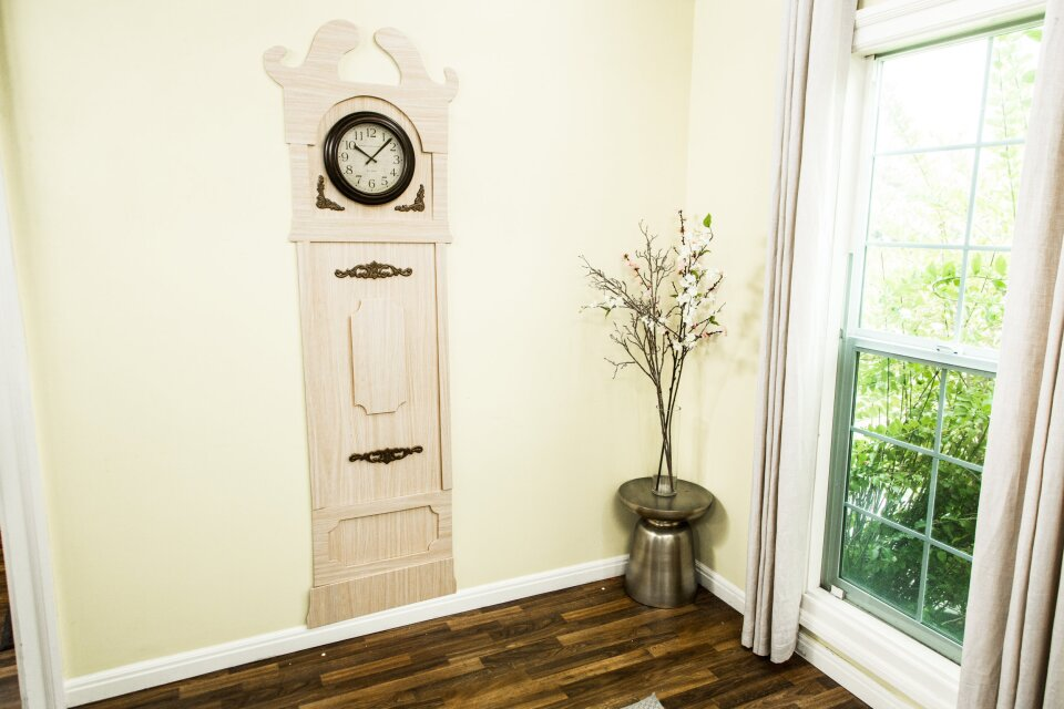 DIY Grandfather's Clock for Kids