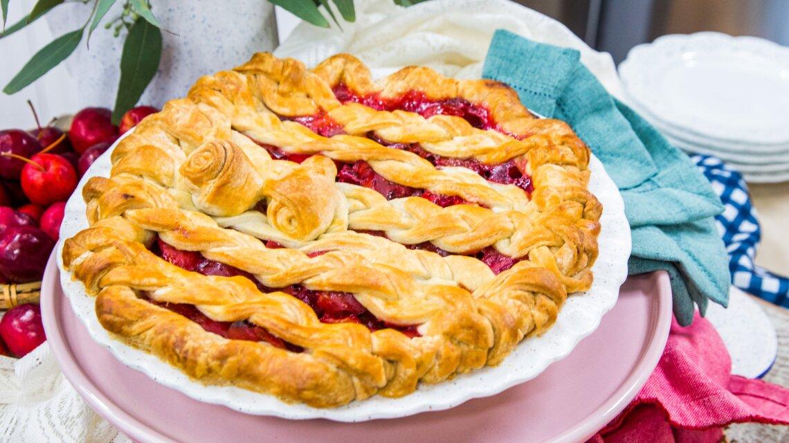 Crab Apple Rose Pie