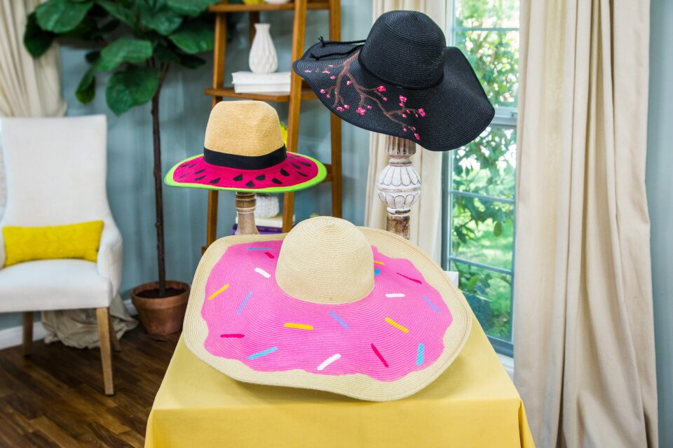 DIY Summer Hats with Orly Shani