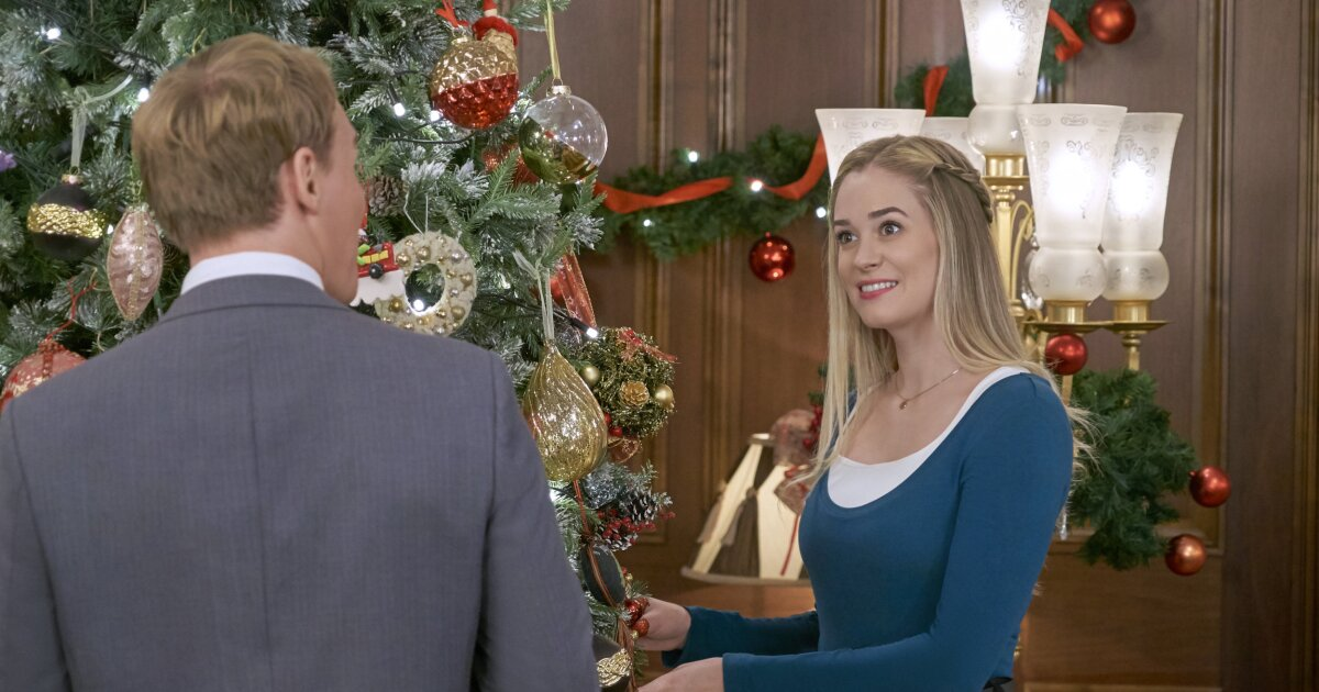 Brittany Bristow as Jessica on Christmas at the Palace