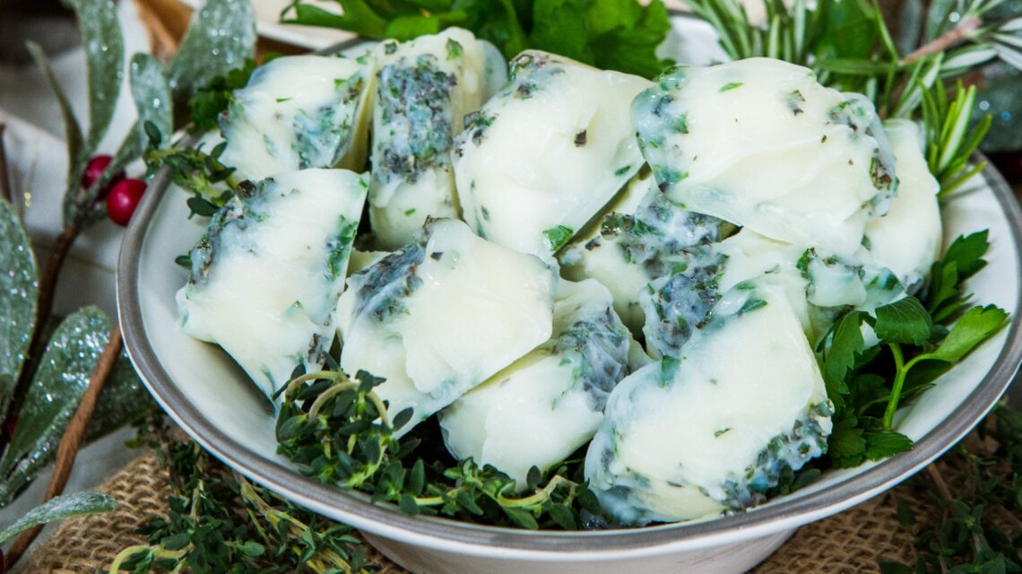 Minced Herbs In Olive Oil