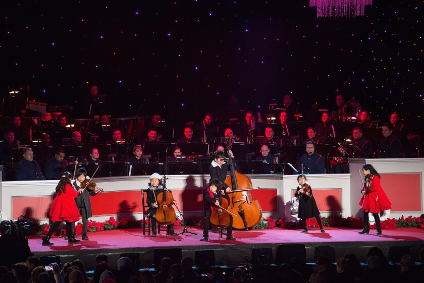 Photos from The National Christmas Tree Lighting - 5