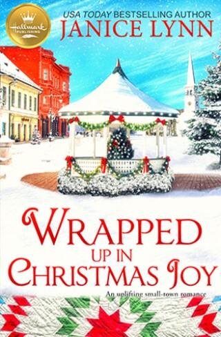 Wrapped up in Christmas Joy Book Cover Hallmark Publishing