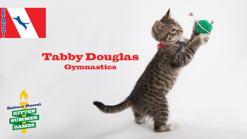 Meet Tabby Douglas of Hallmark Channel Kitten Summer Games